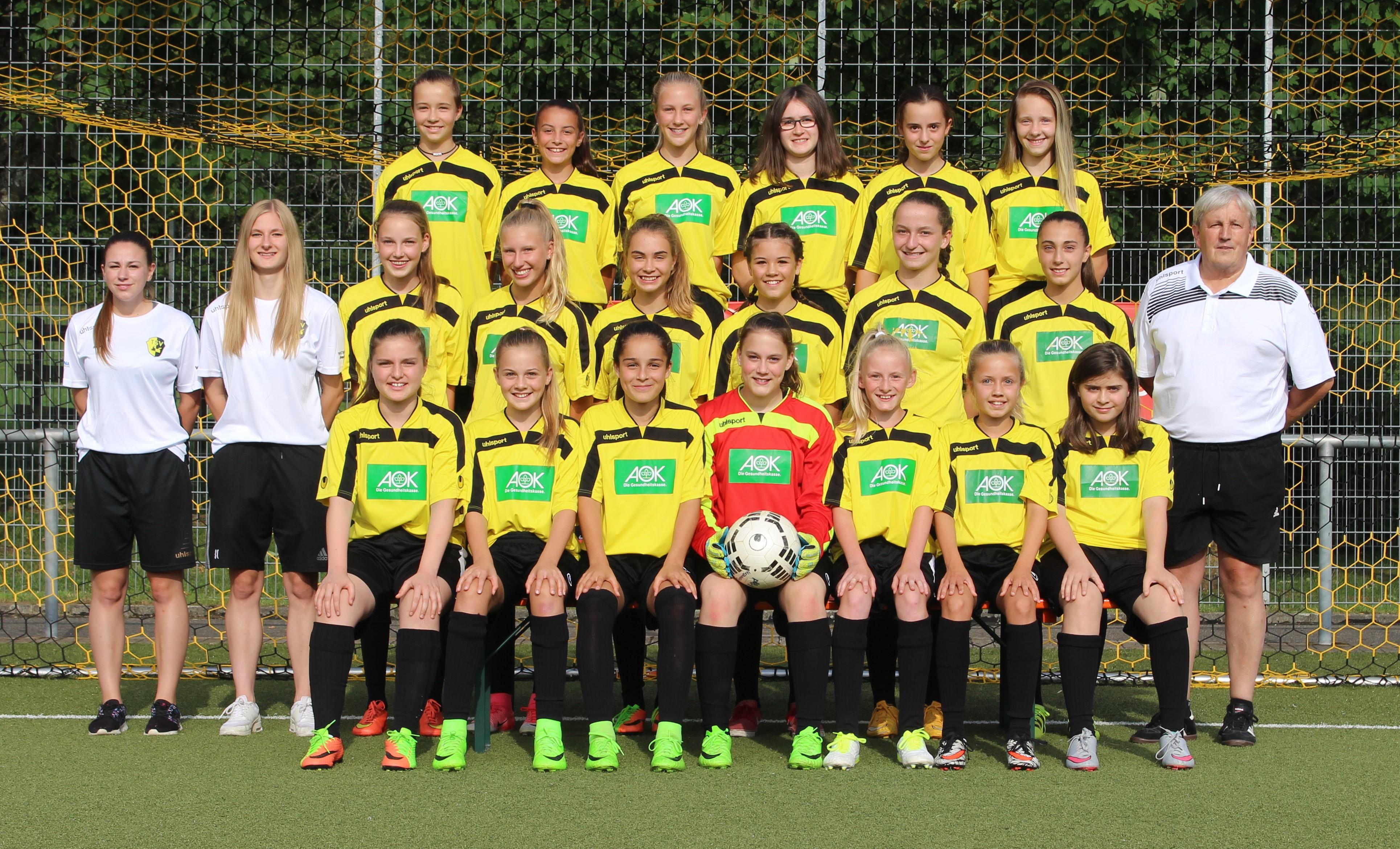 Mannschaftsbild C Juniorinnen 2017 18 (2)