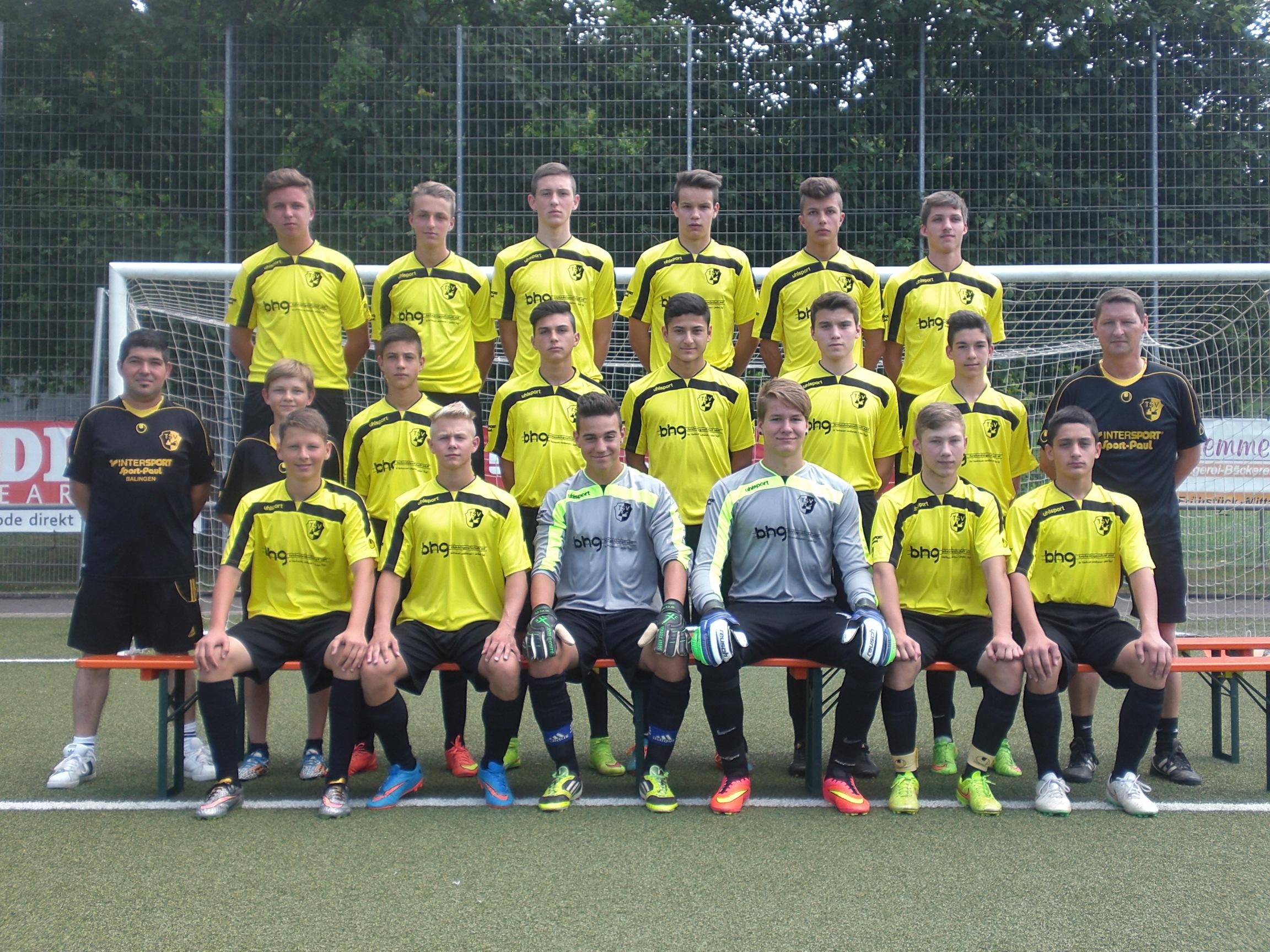 TSV Frommern B-Junioren 11-07-2015
