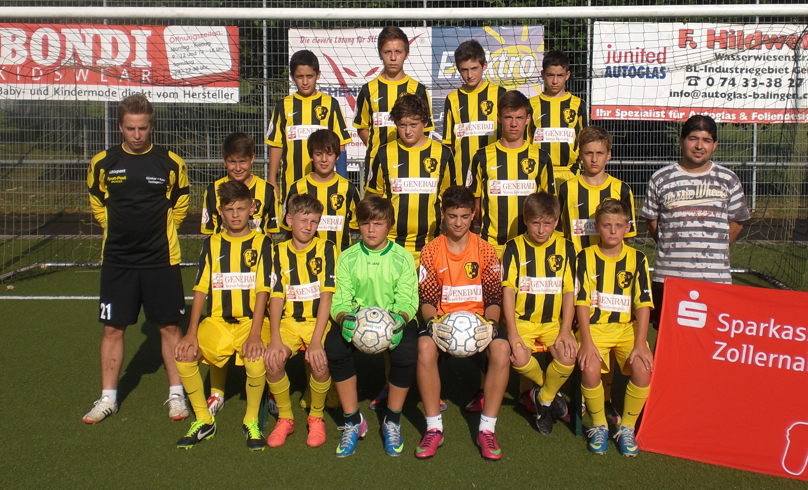 TSV Frommern C2-Junioren 2013-14