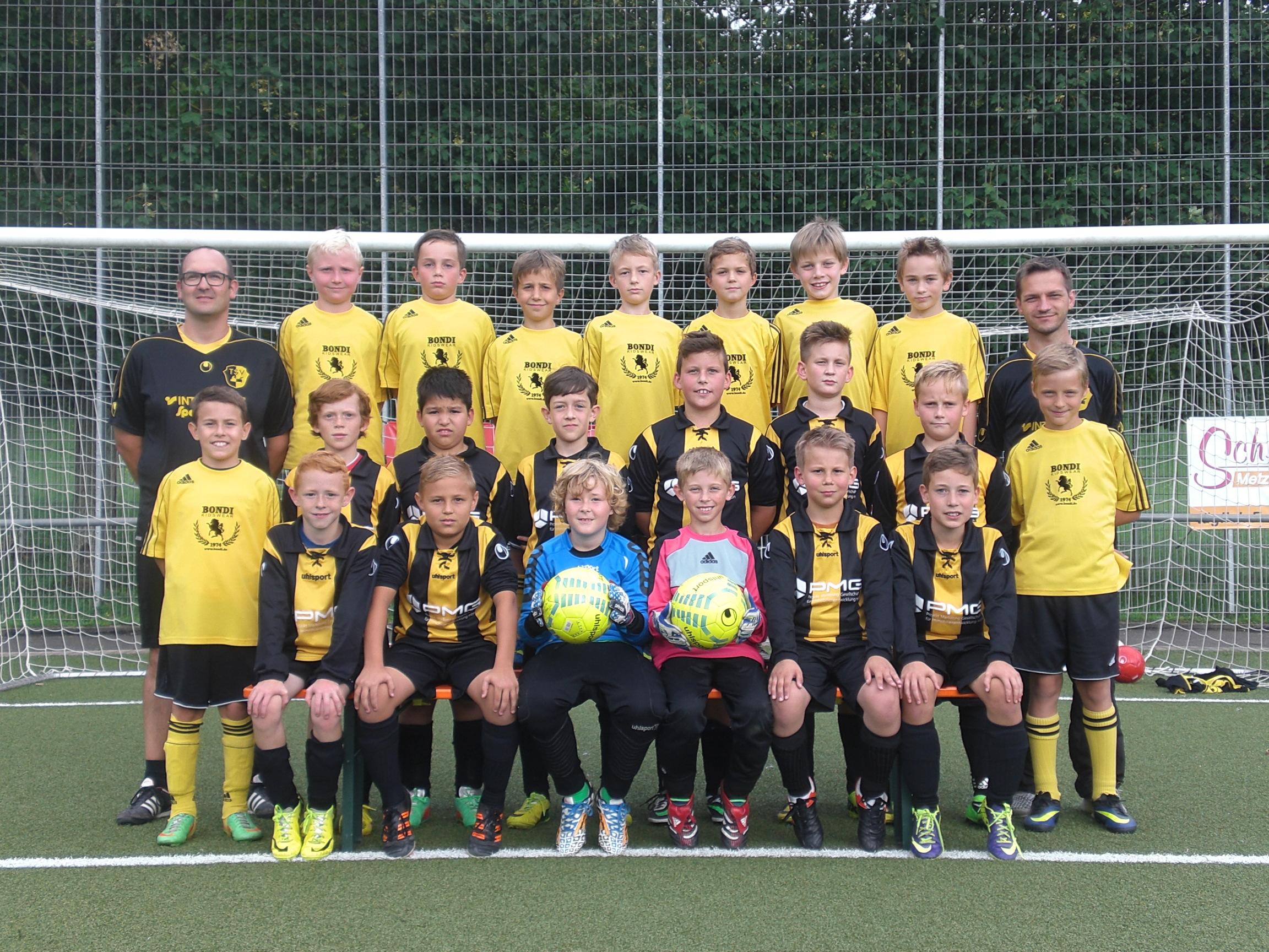 TSV Frommern E-Junioren 2014 2015