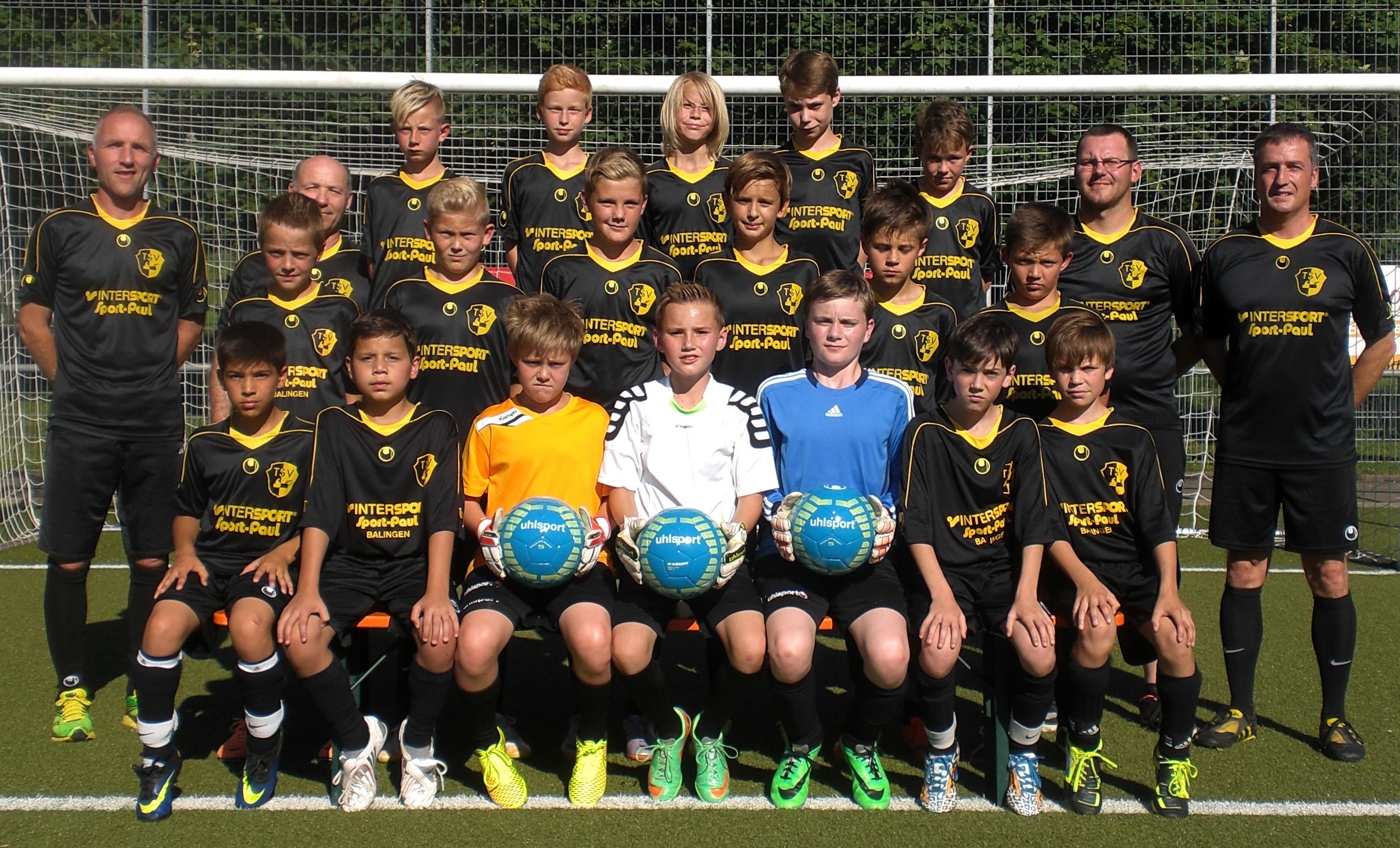 TSV Frommern U13 Saison 2014-15 DreiBänke