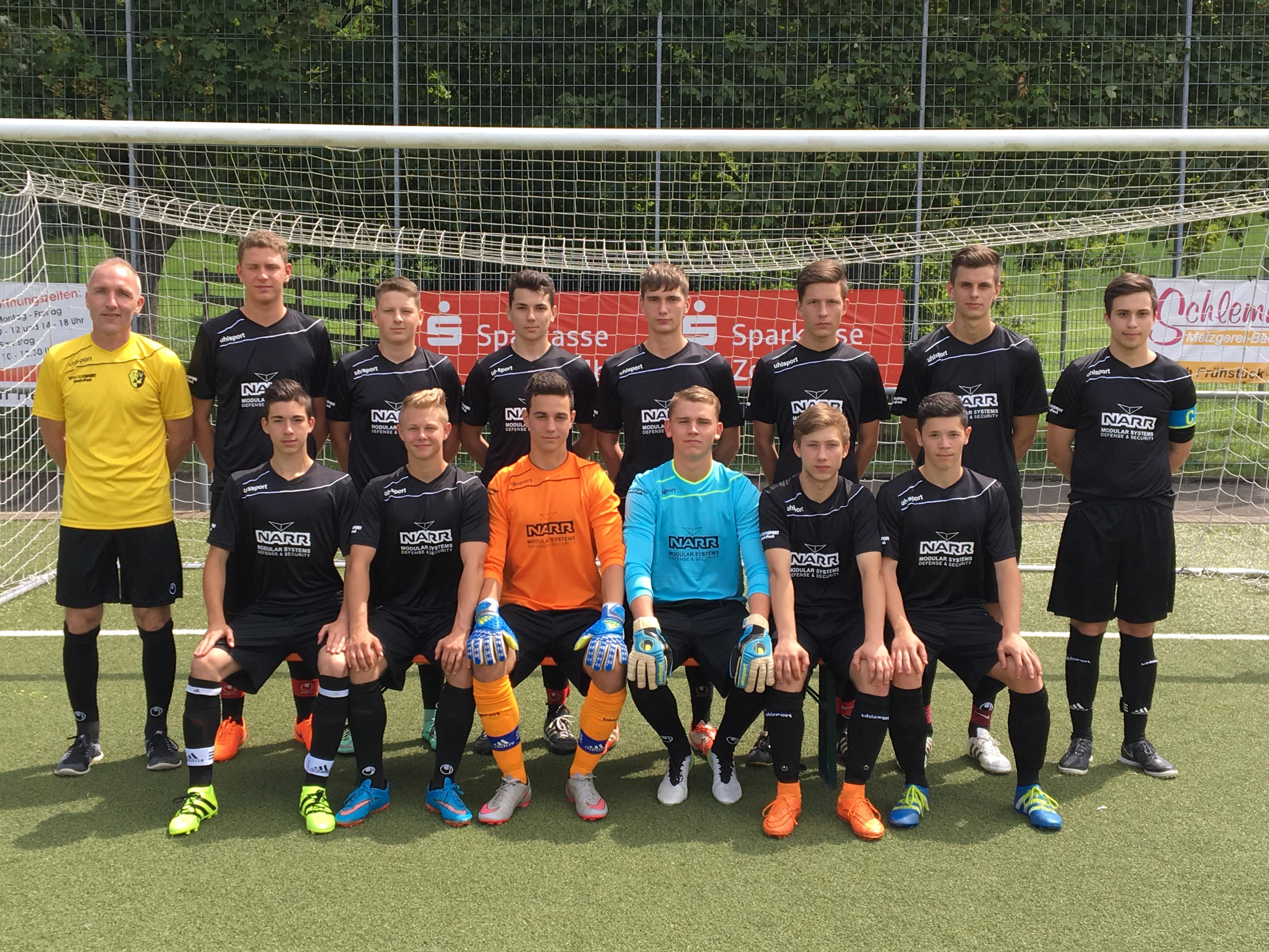 U19 Team Aug-2016