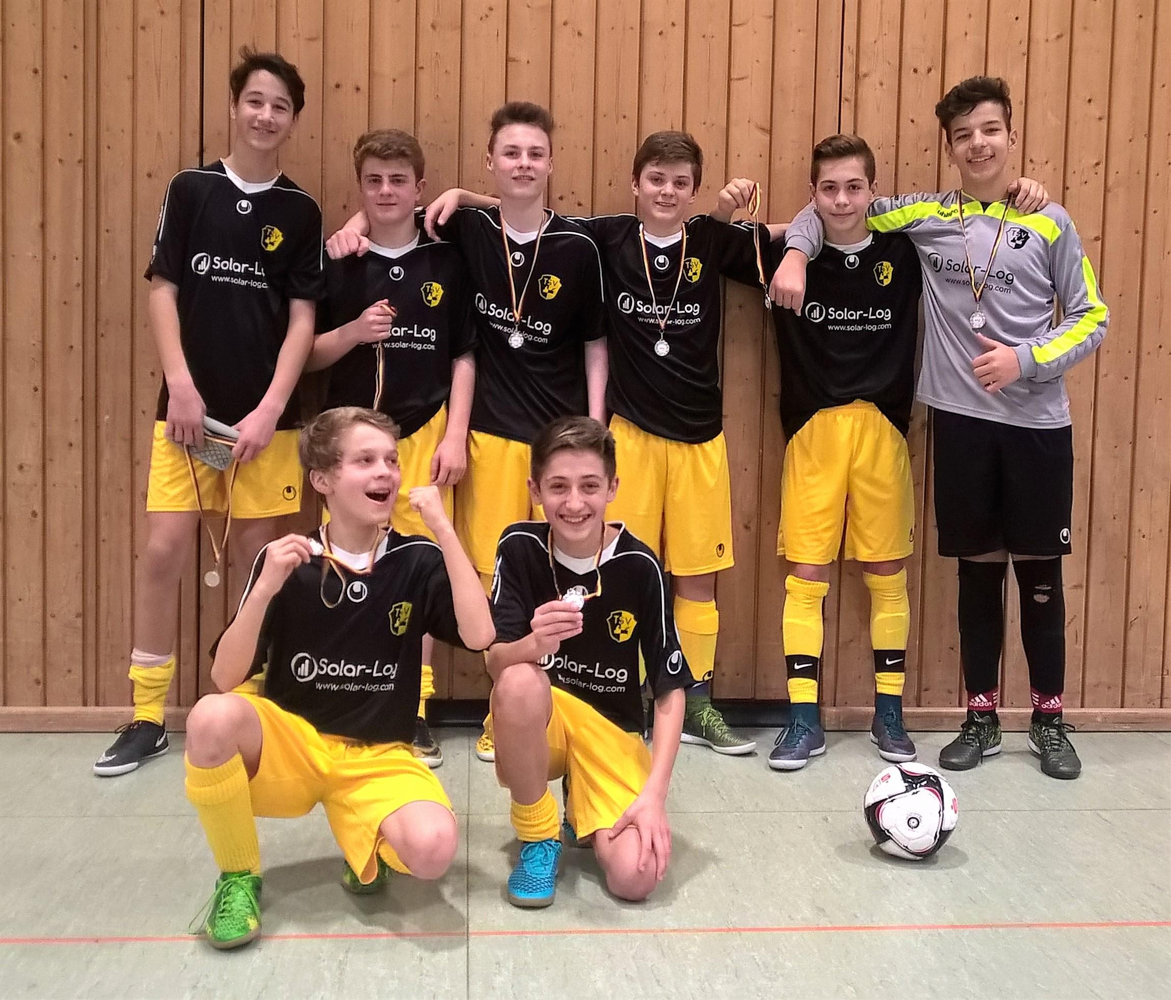 U15 Vize-Bezirksmeister 2016