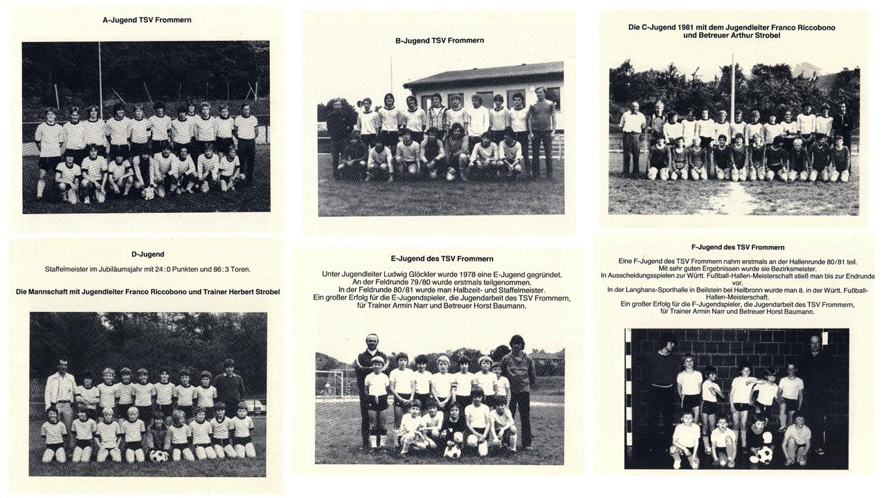1981 Jugendabteilung