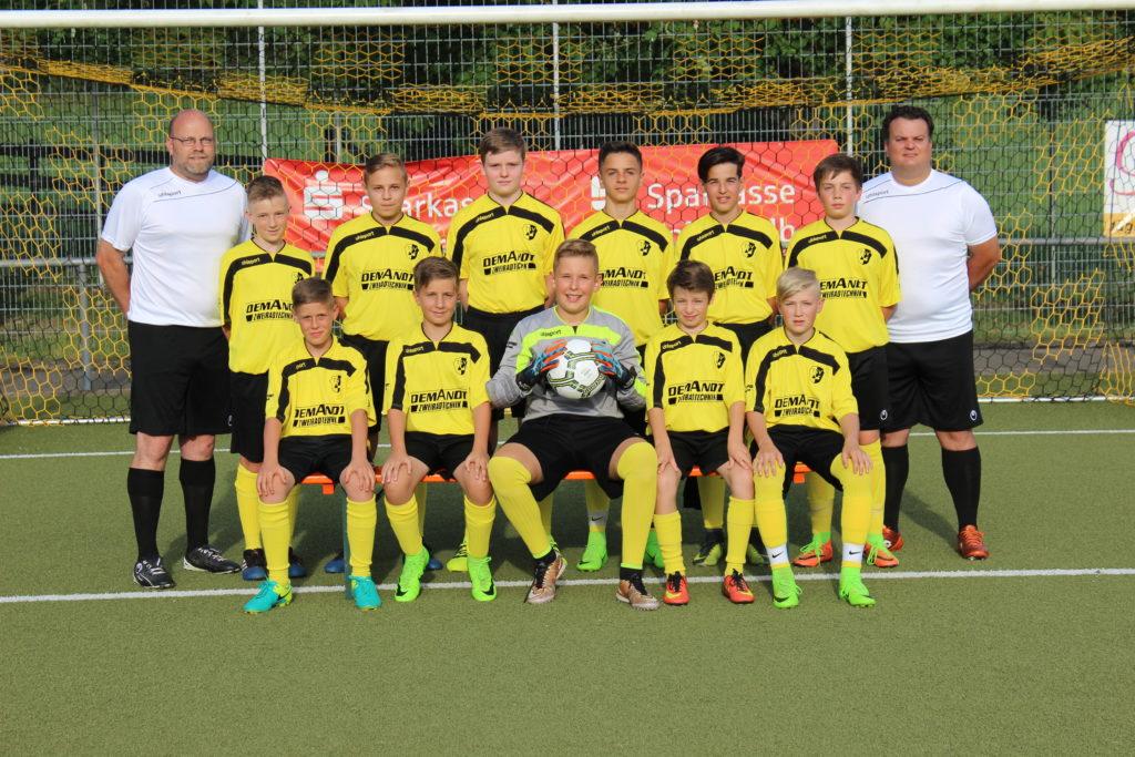 U15 Kreisstaffel 2017-2018