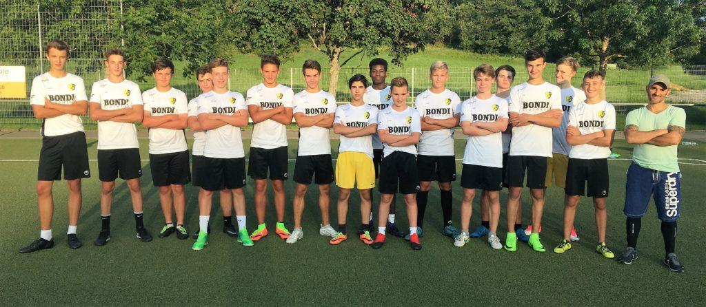 Italo Sforza & das U17 Bondi-Team