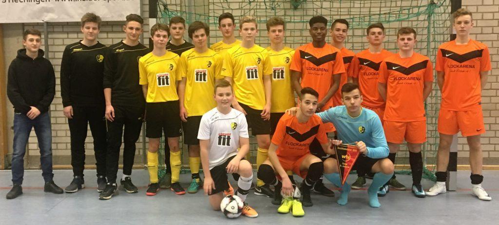 U17 wird Bezirksmeister Futsal 2018